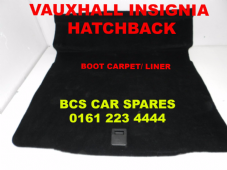 VAUXHALL INSIGNIA BOOT CARPET  ( HATCHBACK ONLY )   2009 - 2012 (1)